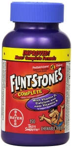 Flintstones Children's Complete Multivitamin, Chewable Tablets 150ct