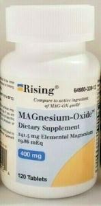 Mag-Oxide 400mg Tablet - 120
