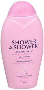 Shower To Shower Absorbent Body Powder-original Fresh - 8 Oz