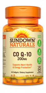 Sundown Naturals Q-Sorb CoQ10 Softgels 200mg - 30ct