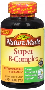 Nature Made Super B Complex Tablets 360ct