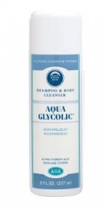 Aqua Glycolic Shampoo & Body Cleanser - 8oz