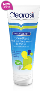 Clearasil Daily Clear Daily Face Wash Sensitive - 6.5oz Tube