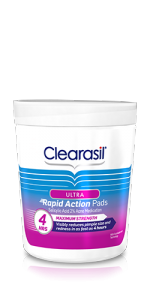 Clearasil Ultra Rapid Action Pads - 90ct