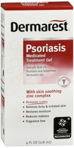 Dermarest Psoriasis Medicated Skin Treatment Gel- 4 fl oz