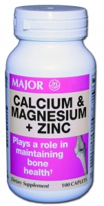 Major Cal-Mag-Zinc Tablets
