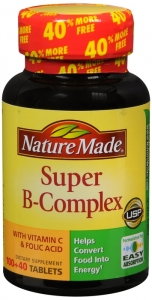 Nature Made Super B Complex Tablets 140ct