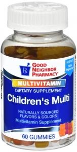 GNP Children's Multivitamin Gummies 60ct