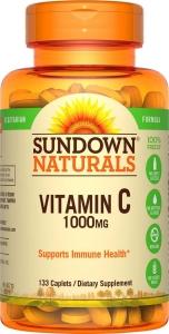 Sundown Vitamin C 1000mg High Potency 133 Caplets