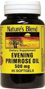Nature's Blend Evening Primrose 500mg Capsules, 90ct