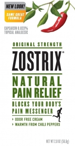 Zostrix Arthritis Pain Relief Cream - 2oz Tube