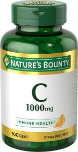Nature's Bounty Vitamin C 1000mg Caplets 100ct