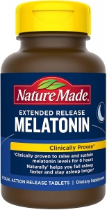 Nature Made Melatonin 4mg Extended Release Tablets - 90ct
