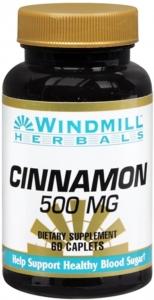 Windmill Cinnamon 500 mg Caplets 60 Caplets