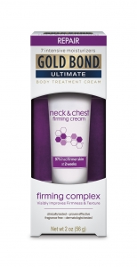 Gold Bond Ultimate Firming Neck & Chest Cream, Fragrance Free- 2oz