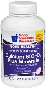 GNP Caclium 600 +D3 Plus Minerals