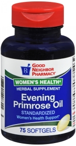 GNP Evening Primrose Oil 75 Softgels