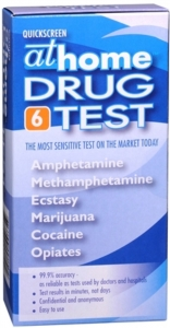 At Home Drug Test, 6 Panel, 1 test