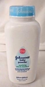 Johnsons  Baby Powder With Aloe & Vitamin E - 4oz