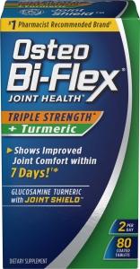 Osteo Bi-Flex Triple Strength Joint Health Plus Turmeric Tablets 80 Ct