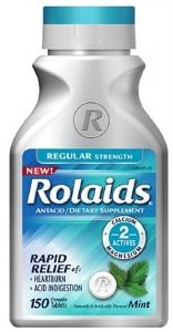 Rolaids Regular Strength Tablets Mint - 150ct