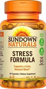 Sundown Naturals L-Theanine Stress Formula Capsules 60ct