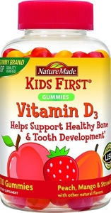 Nature Made Kids First Vitamin D Gummy - 110ct