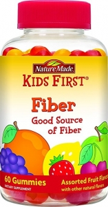 Nature Made Kids First Fiber Gummies, 60ct