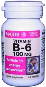 Vitamin B-6 100mg Tablets