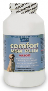 Comfort MSM Plus, Advanced Joint Support for Dogs, 90 Chewable Tablets