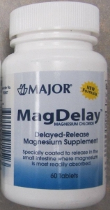 MagDelay Magnesium Chloride - 60 Delayed Release Tablets