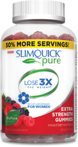 SLIMQUICK® Women Pure Extra Strength Gummies- 60ct
