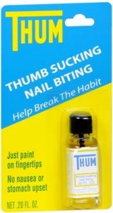 THUM Thumb Sucking, Nail Biting Liquid- 0.2oz