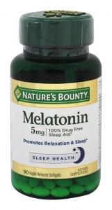 Nature's Bounty Extra Strength Melatonin Liqui-gels 5mg 90ct