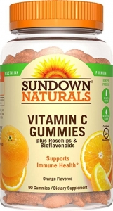 Sundown Natural Vitamin C 250mg Gummies 50ct