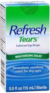 Refresh Tears Lubricant Eye Drops - .5oz