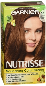 Nutrisse Haircolor - 53 Chestnut (Medium Golden Brown)