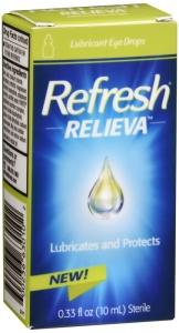 Refresh Relieva Lubricant Eye Drops 0.33 Oz