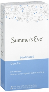 Summers Eve Douche Twin Medicated 2-pack