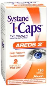 I-Caps AREDS 2 Eye Vitamin Softgels 120 ct