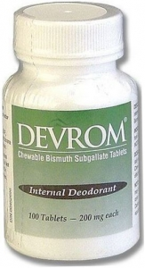 Devrom Internal Deodorant ChewTab 100ct Bottle
