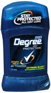 Degree Men Antiperspirant Invisible Stick Extreme Blast - 1.7 oz