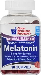GNP Melatonin 5mg Gummy 90ct