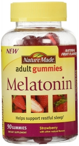 Nature Made Melatonin Gummies Strawberry - 80ct