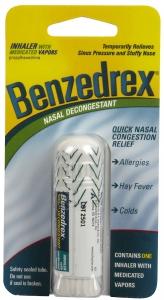 Benzedrex Inhaler