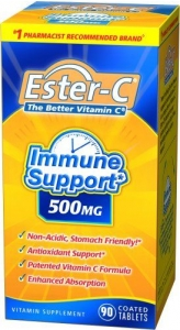 Ester-C  500mg Immune Support Coated Tablets - 90 ct