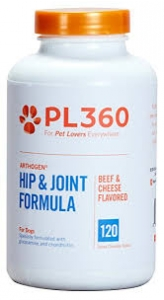 Arthogen  Hip & Joint Formula for Dogs- Beef & Cheese Flavor- 120 Chew Tabs