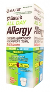Children's All Day Allergy Syrup- 118ml