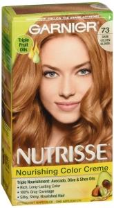 Nutrisse Haircolor - 73 Honeydip (Dark Golden Blonde)