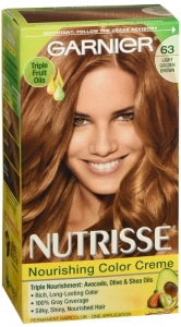 Nutrisse Haircolor - 63 Brown Sugar (Light Golden Brown)